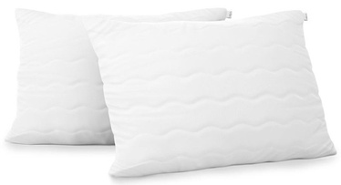AmeliaHome Reve Pillow Set White 50x75cm 2pcs