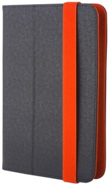 "GreenGo Universal Book Case With Stand 7-8"" Black/Orange"
