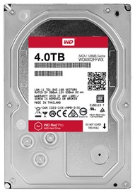 Western Digital Red Pro 4TB 7200RPM SATAIII 128MB WD4002FFWX