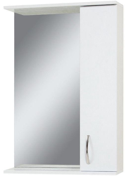 Vannas istabas skapītis Sanservis ZL-55 Ekonom with Mirror White 56x83.6x17cm