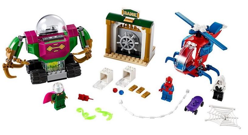 Конструктор LEGO Super Heroes Spider Man The Menace Of Mysterio 76149 76149, 163 шт.