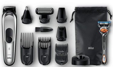Plaukų ir barzdos kirpimo mašinėlė Braun MGK7020