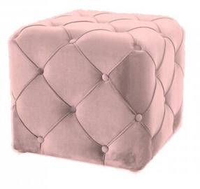Signal Mebel Aviva Pouf Pink Velvet