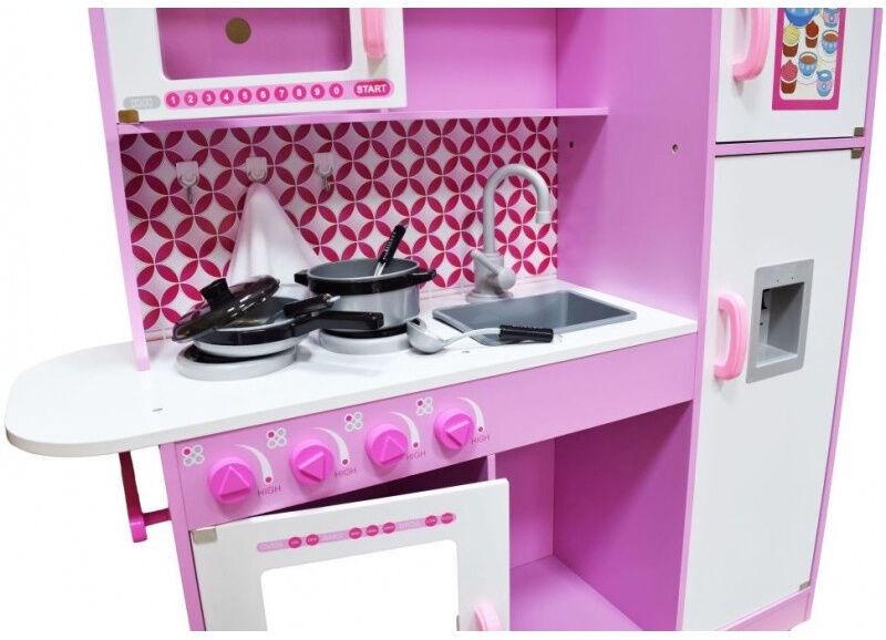 4IQ Nikola Candy Wooden Kitchen Pink
