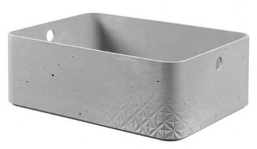 Curver Beton Box Rectangle M 6.5l Grey