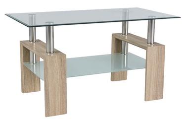 Kafijas galdiņš Signal Meble Modern Lisa III Sonoma Oak, 1100x600x600 mm