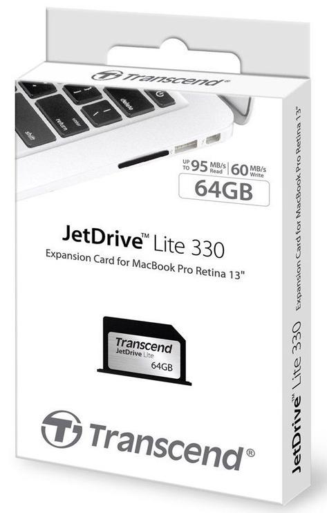 Transcend 64GB JetDrive Lite 330 for Macbook Pro (Retina) 13''
