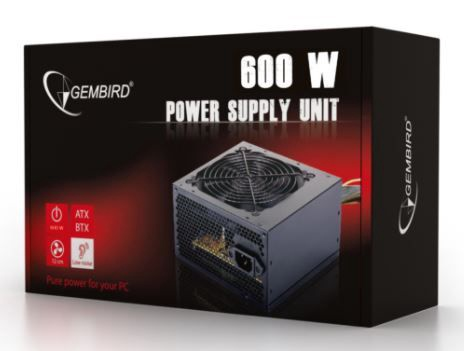 Gembird PSU 600W PFC