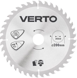 Verto Circular Saw Blade 200x30mm 40T