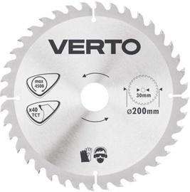 Verto Circular Saw Blade 200x30mm 40T