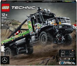 Конструктор LEGO Technic Полноприводный грузовик-внедорожник Mercedes-Benz Zetros 42129, 2110 шт.
