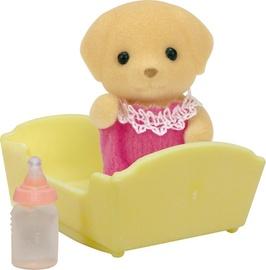 Rotaļlietu figūriņa Epoch Sylvanian Families Yellow Labrador Baby 5187
