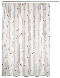 Vonios užuolaida Gedy Leaf 104, 240 x 200 cm