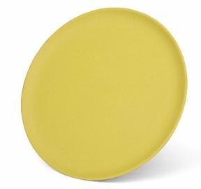 Fissman Bamboo Plate 28x1.2cm Yellow