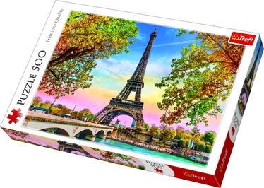 Puzle Trefl Romantic Paris 37330, 500 gab.