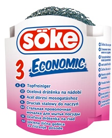 Soke Metal Scourers 3pcs