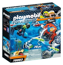 Constructor playmobil top agents 70003
