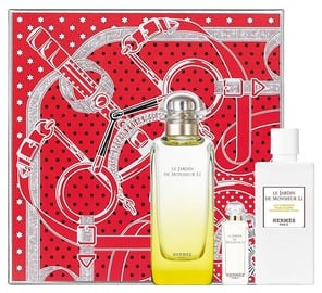 Hermes Le Jardin de Monsieur Li 100ml EDT + 80ml Body Lotion + 7.5ml EDT Unisex New Design