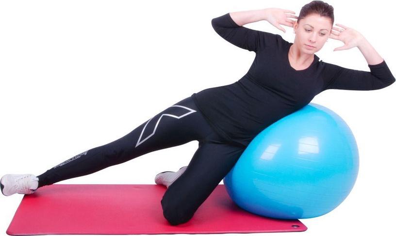 inSPORTline Gymnastics Ball 75cm Purple