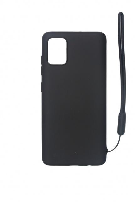 Nugarėlė silikoninė Samsung A51 Black
