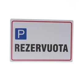Informācijas zīme, 300x200 mm