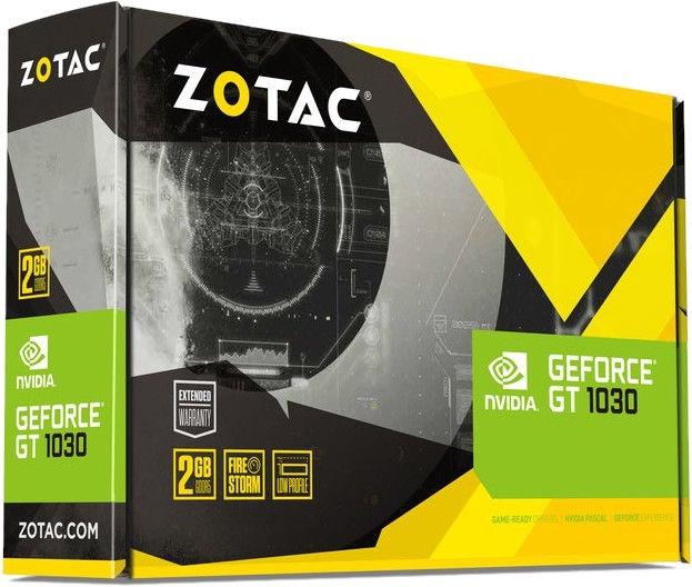 Zotac GeForce GT 1030 2GB GDDR5 PCIE ZT-P10300E-10L