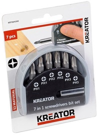 Kreator PH1, PH2, PH3 Bit Set 7pcs