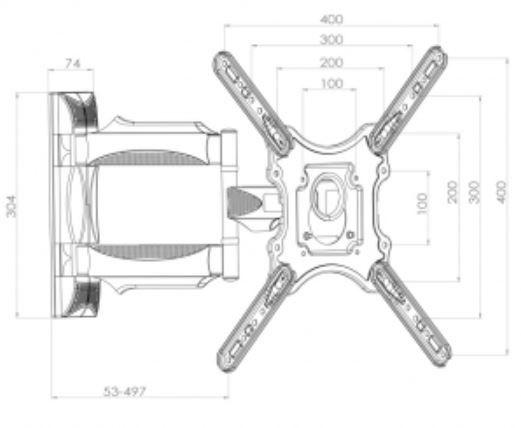 """ART Mount for LED/LCD 23-52"""""""