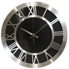 Besk Wall Clock Silver 30cm