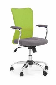 Halmar Chair Andy Grey/Lime green
