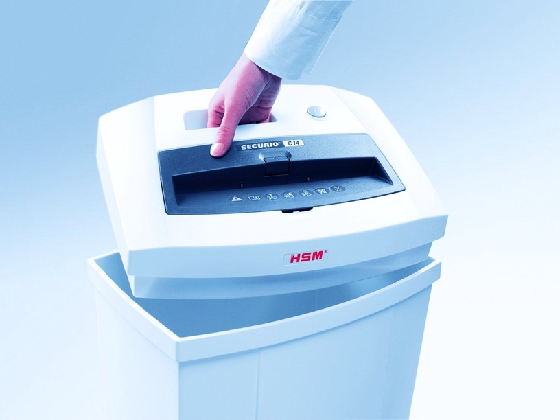 Уничтожитель бумаг HSM Securio C14, 3.9 mm
