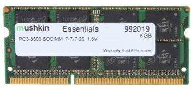 Mushkin Essentials 4GB DDR3 1066MHz CL17 SO-DIMM 991644