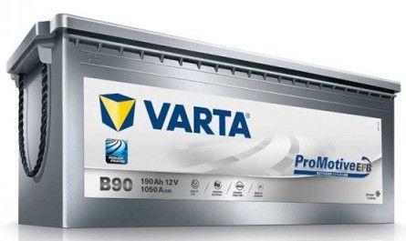 Аккумулятор Varta ProMotive EFB Truck EFB B90, 12 В, 190 Ач, 1050 а