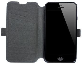 Telone Super Slim Shine Book Case Apple iPhone 5/5S Black