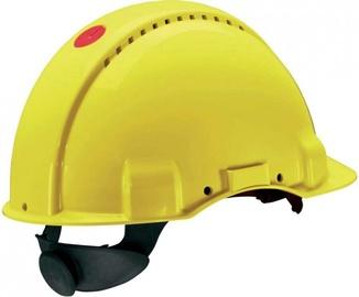 3M Peltor Safety Helmet Yellow G3000NUV-RD