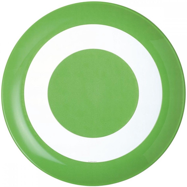 Luminarc Simply Colour Lunch Plate Green 26cm