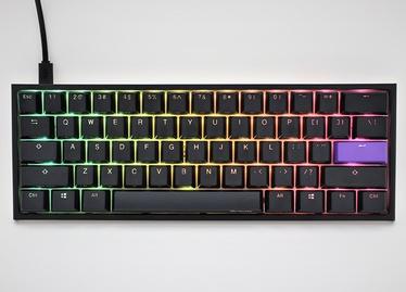 Клавиатура Ducky One 2 Mini RGB Cherry MX Brown EN, белый/черный