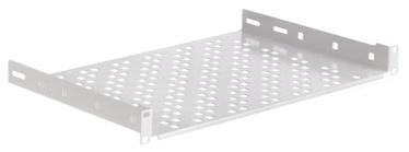 Riiul Netrack Equipment Shelf 19'' 1U/300mm Grey