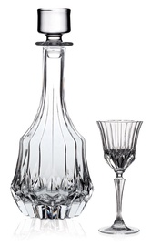 RCR Adagio Carafe And Liqueur Glasses Set 7pcs