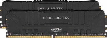 Crucial Ballistix Black 16GB 3000MHz CL15 DDR4 KIT OF 2 BL2K8G30C15U4B