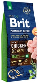 Brit Premium by Nature Adult XL Breed Chicken 15kg