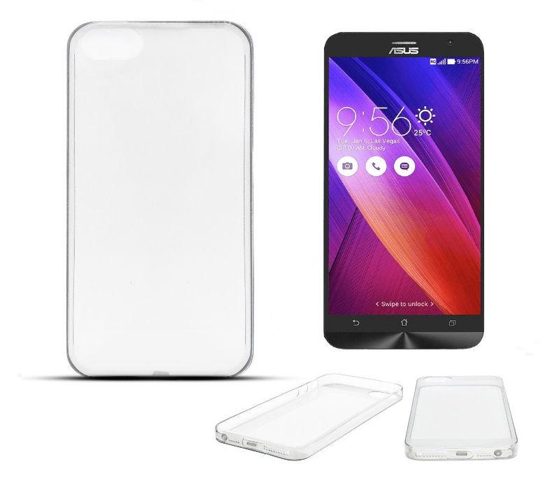 Forcell Ultra Slim Back Case For Asus Zenfone 2 ZE500ML Transaprent