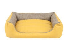 Кровать для животных Amiplay Morgan, желтый, 460x580 мм