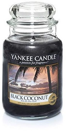 Yankee Candle Classic Large Jar Black Coconut 623g