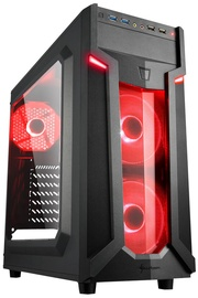 Sharkoon VG6-W Mid-Tower Red