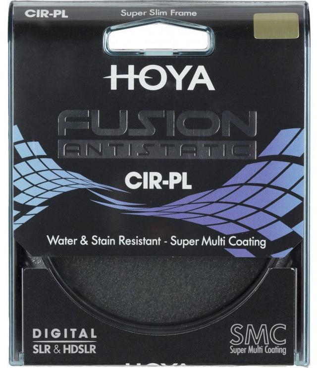 Hoya Fusion Antistatic CIR-PL Filter 105mm