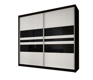 Idzczak Meble Wardrobe Multi 01 183cm Black