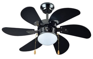 Verners Lamp w/ Fan 60W E27 Black