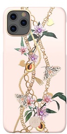 Kingxbar Luxury Series Back Case With Swarovski For Apple iPhone 11 Pro Pink
