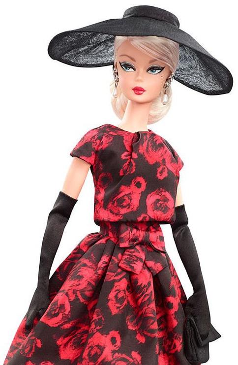 Mattel Barbie Elegant Rose Cocktail Dress Doll FJH77
